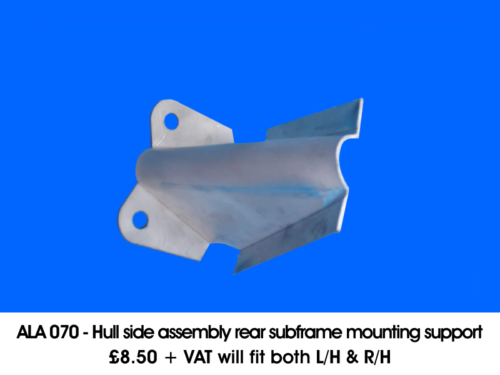 ALA-070-HULL-SIDE-ASSEMBLY-REAR-SUBFRAME-MOUNTING-SUPPORT-WILL-FIT-BOTH-LH-RH