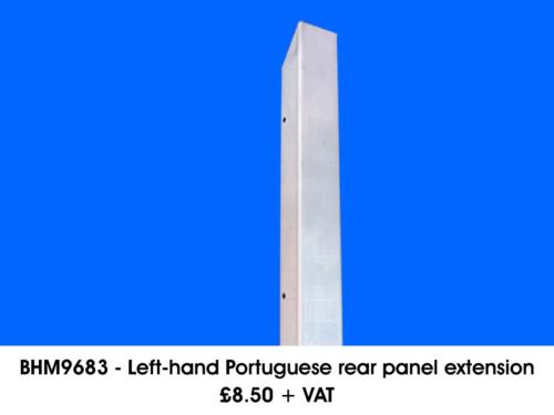 BHM9683-LEFT-HAND-PORTUGUESE-REAR-PANEL-EXTENSION